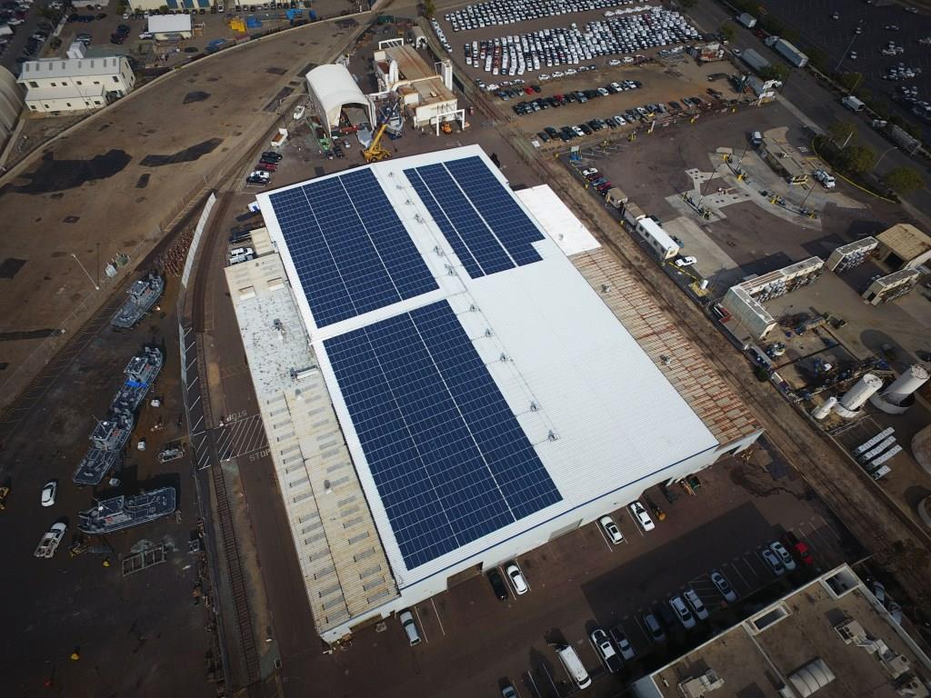 marine group boat works commercial solar