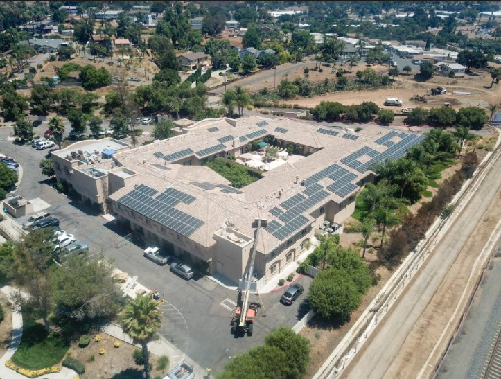 Baker Commercial Solar Solutions for Vista Gardens