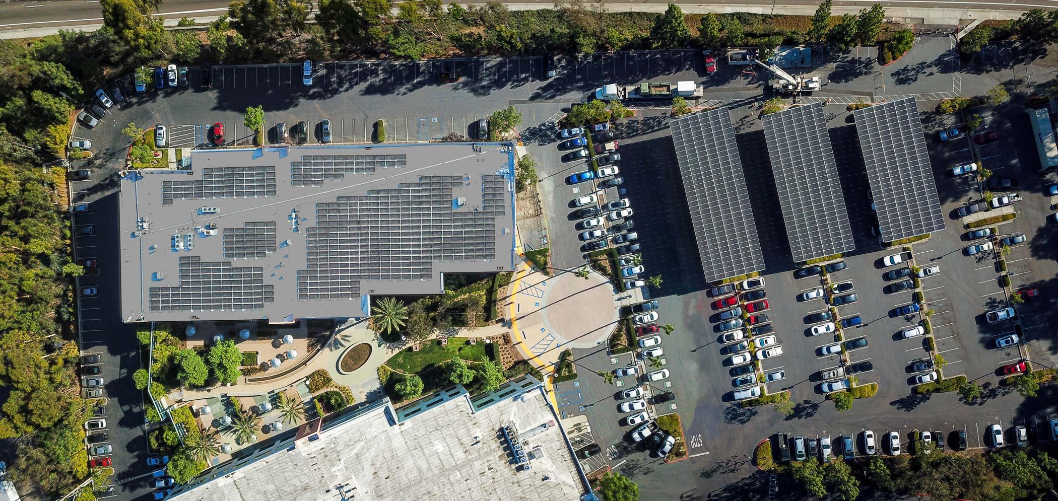 solar for business california