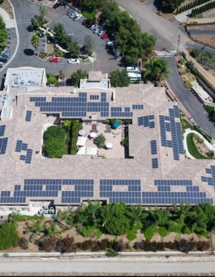 Commercial Solar for Vista Gardens