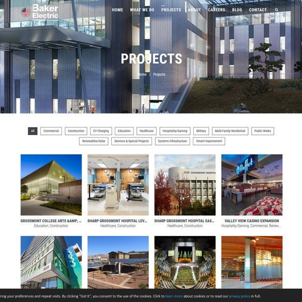 Baker Electric Projects